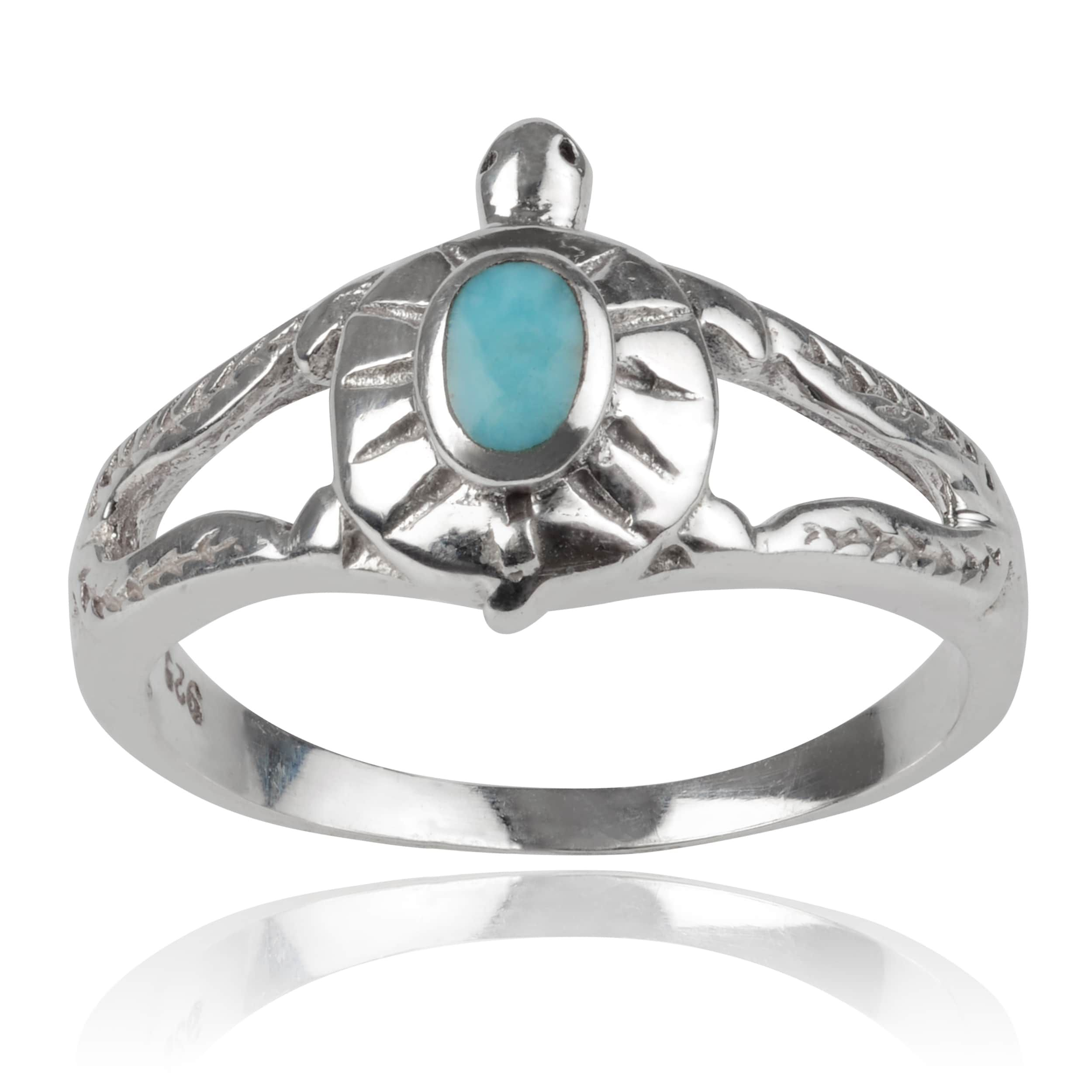 ring on sterling journee silver overstock over free turtle product collection jewelry rings orders watches shipping