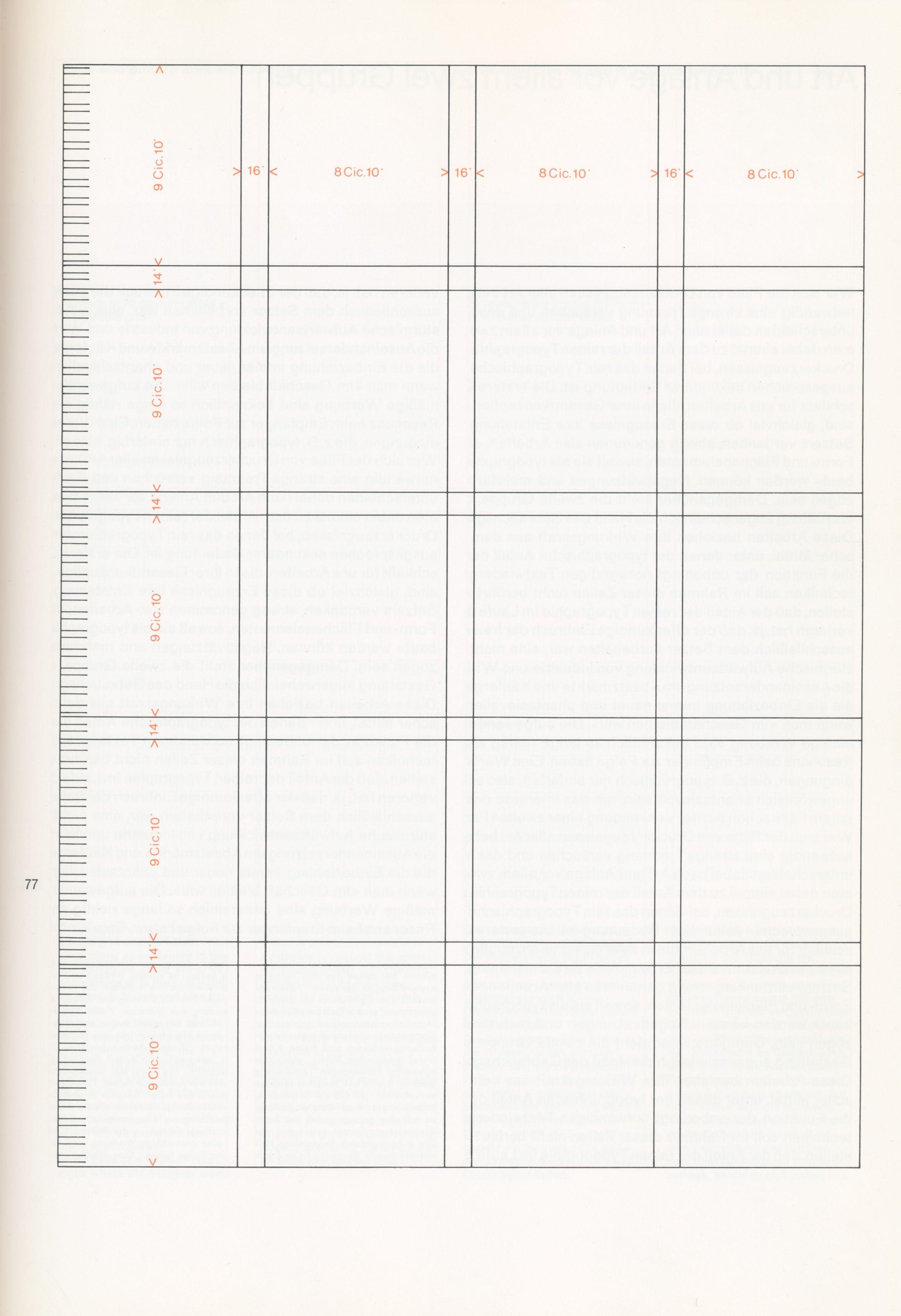 Josef Muller Brockmann Grid   Module   Pinterest   Graphics ...