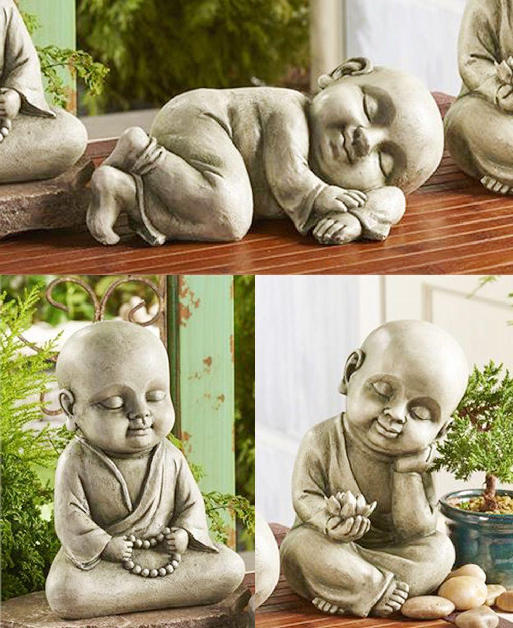 Baby Buddha Garden Statues Statues Bouddha Bouda Zen 640 x 480