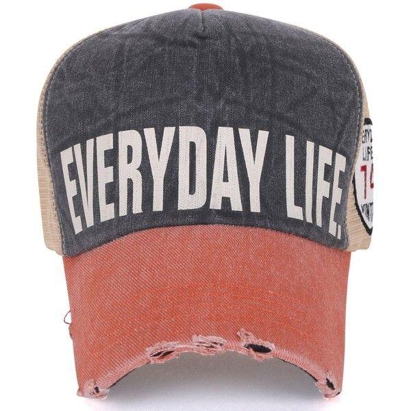 Ililily Vintage Distressed Pre Curved Brim Mesh Back Snapback Hat Baseball Cap Hats For Men Distressed Hat Baseball Hats