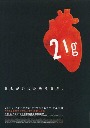 21 Grams Japanese Movie Poster Movie Posters Movies