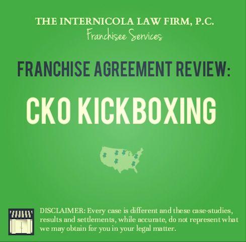 Ckokickboxing Fdd  Franchise Agreement Case Result  Buy A