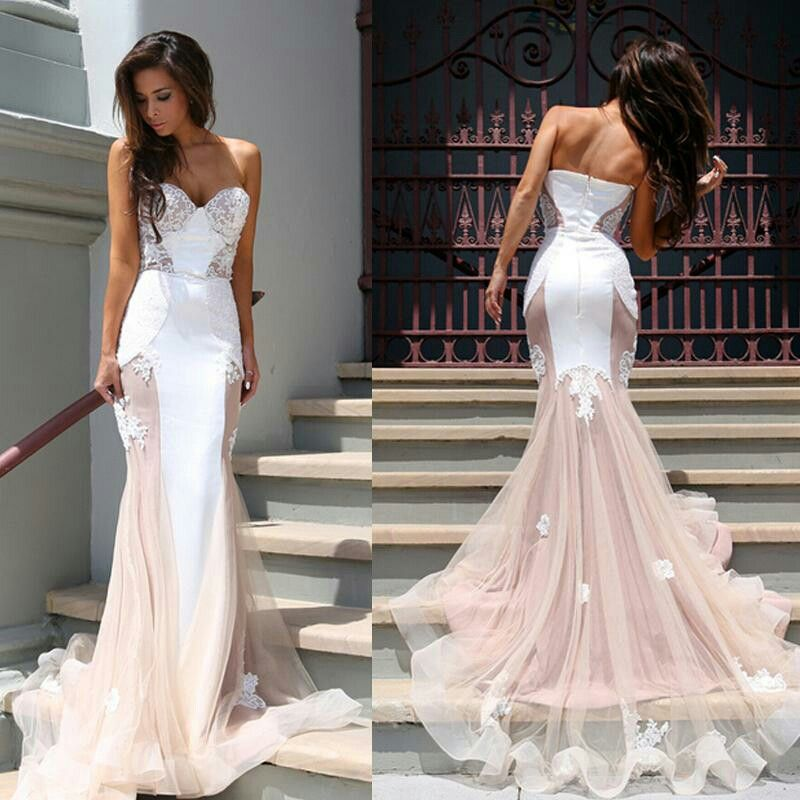 Want A Wedding Dress That Incorporates The Clic Bridal White Modern Edgy Chic Blush