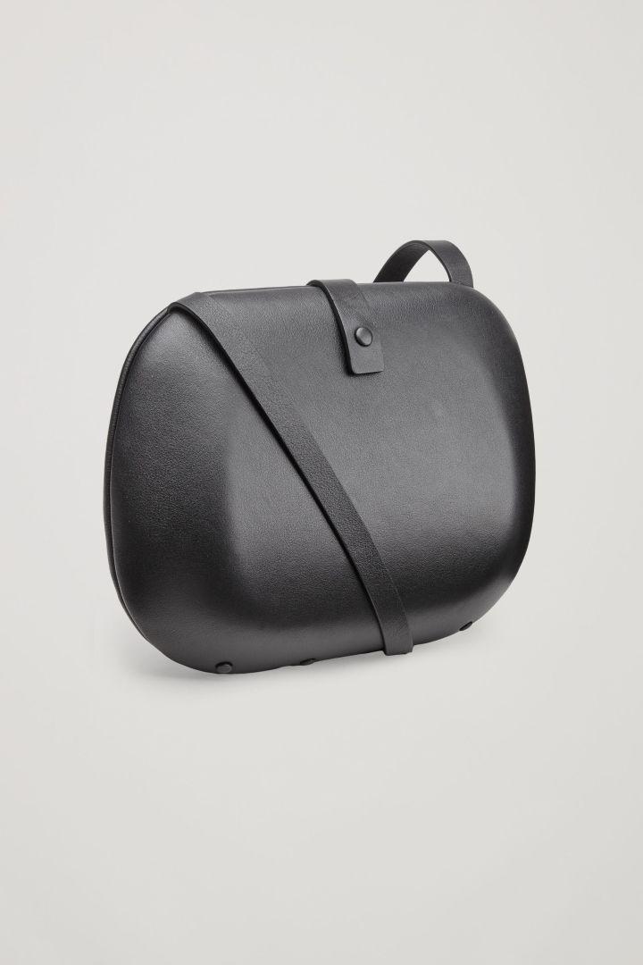 Hard Case Leather Bag Black Bags Purses Cos Gb