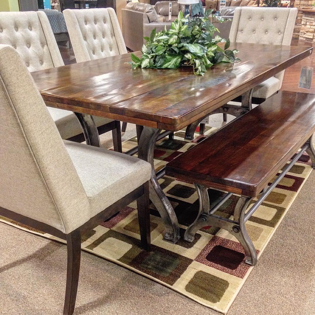 Ashley Furniture Homestore Richland Wa Rustic Dining Room Table