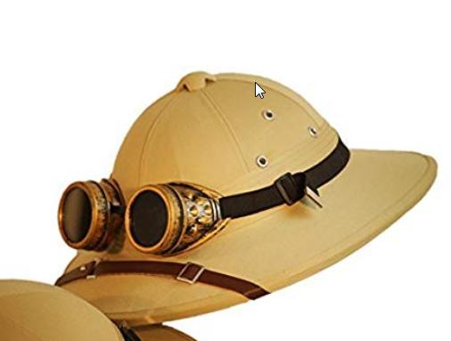 Pin By Alvaro Letelier On Steampunk Sbp Safari Hat Hats Victorian Gothic