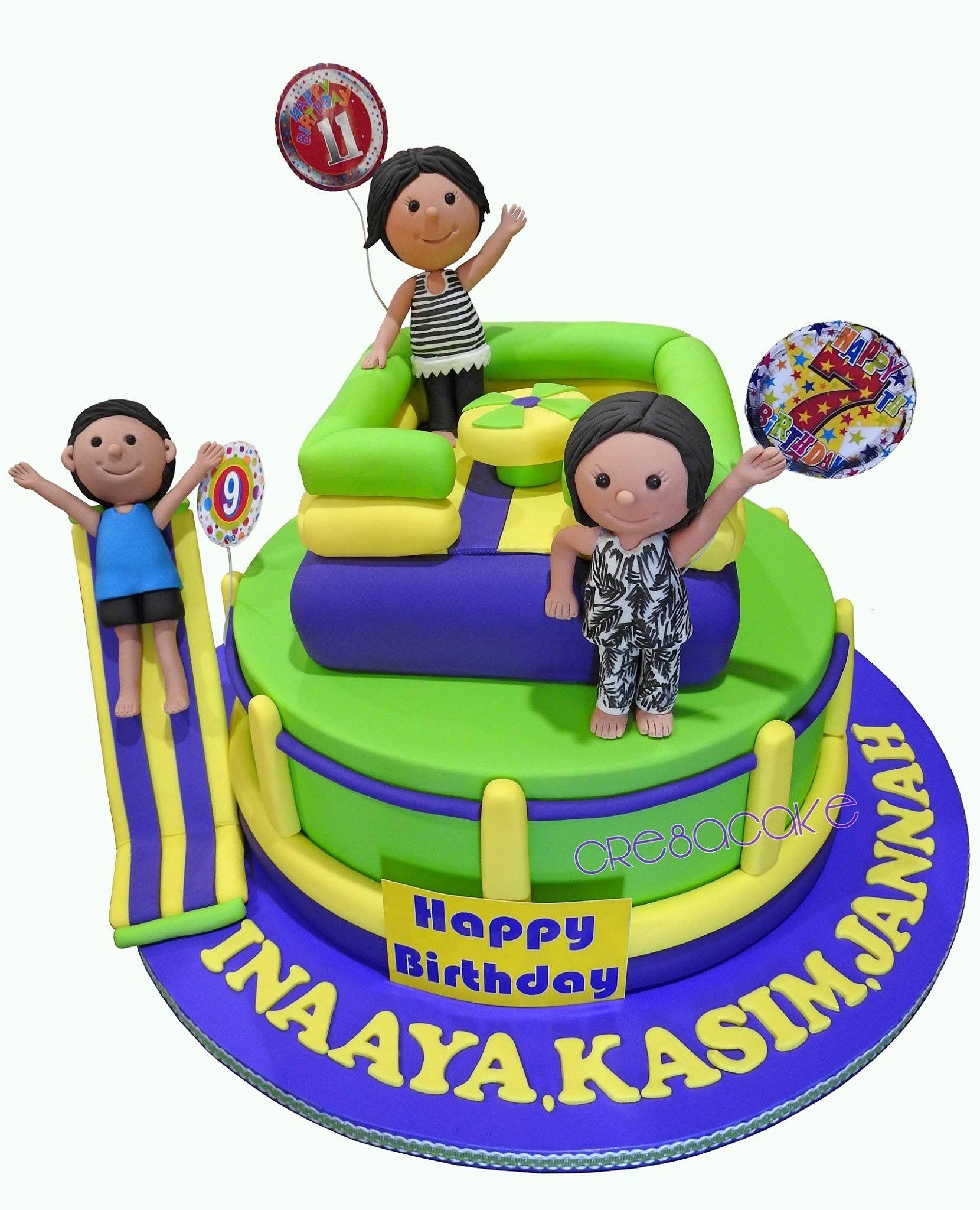 Awe Inspiring Inflatable World Birthday Cake Cake Birthday Birthday Cake Birthday Cards Printable Inklcafe Filternl