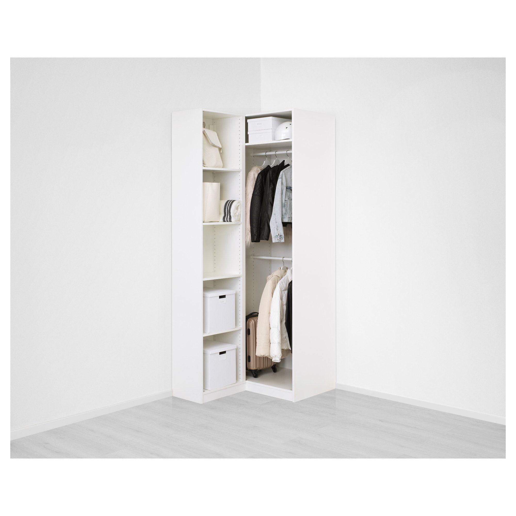Pax Corner Wardrobe White Fardal Vikedal In 2019 Studio