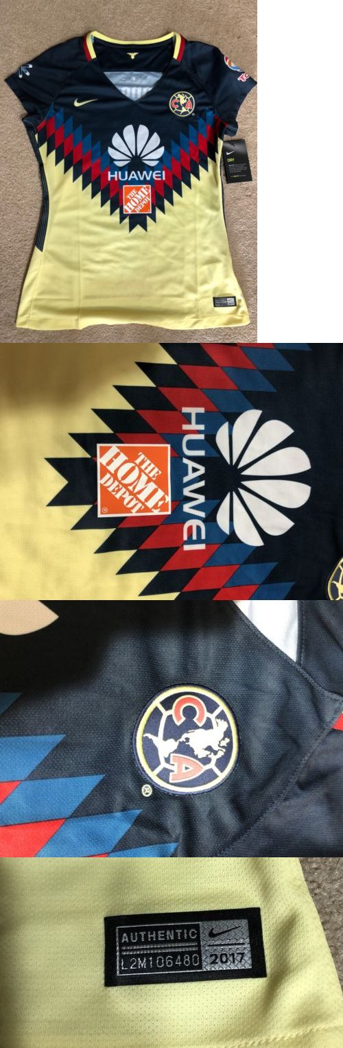 72a29dcdfa1 Clothing 21218  Women S Nike Club America 2017 2018 Stadium Home Jersey  Size Medium 847223 455 -  BUY IT NOW ONLY   49.99 on  eBay  clothing  women   america ...