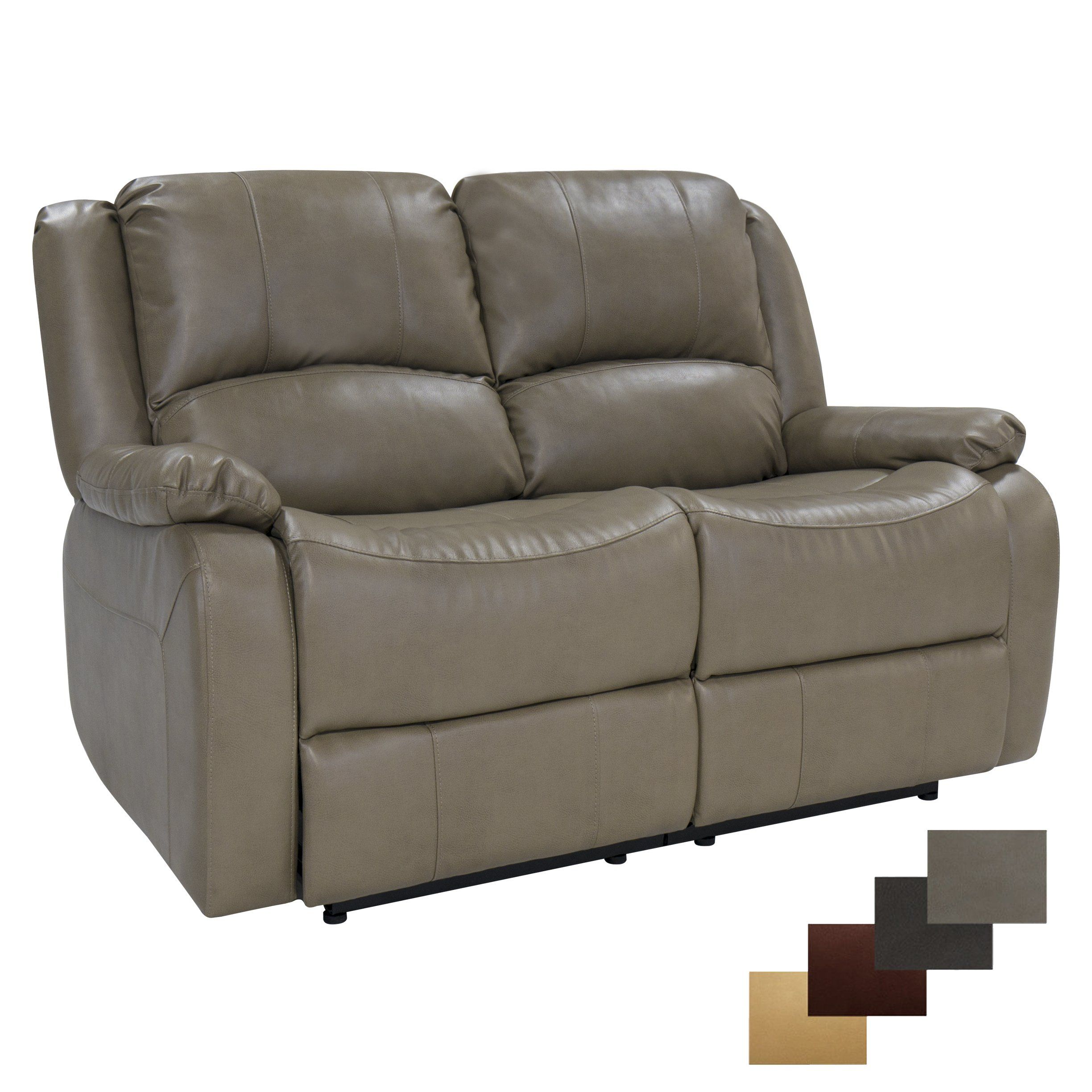 Recpro Charles 58 Double Rv Zero Wall Hugger Recliner Sofa Loveseat Furniture Putty Click Image For More Details Affiliate Link