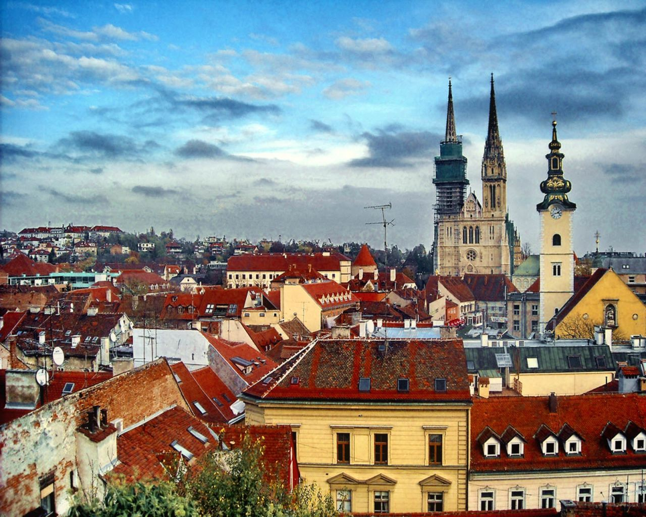 Croatia S Coastal Attractions Aside Zagreb Has Finally Been Discovered As A Popular City Break Destination In Its Own Right Des Zagreb Croatia Zagreb Croatia