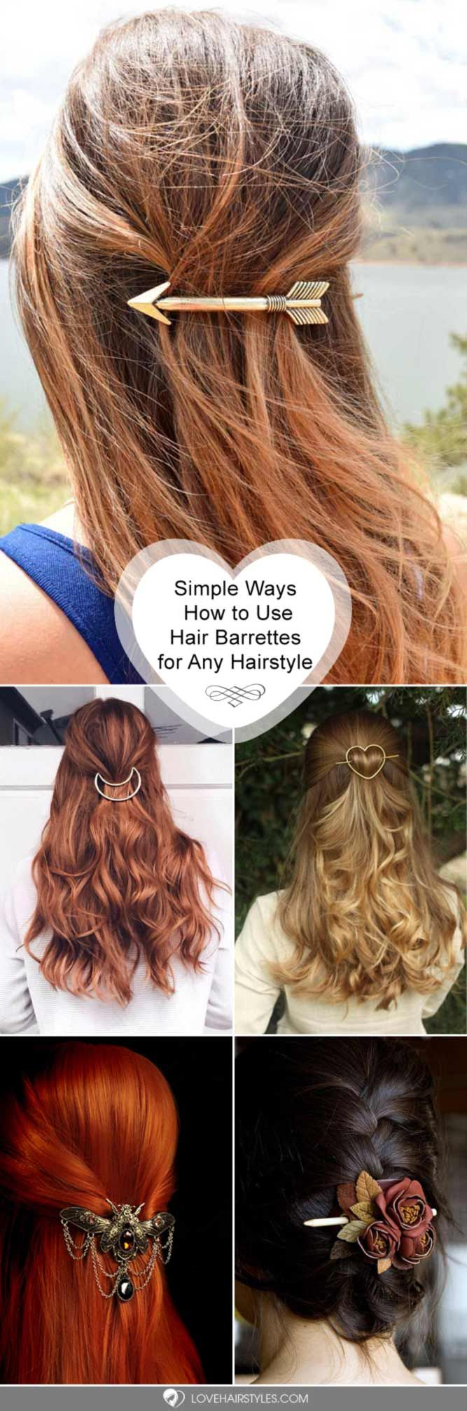 hair barrettes ideas to wear with any hairstyles vogue