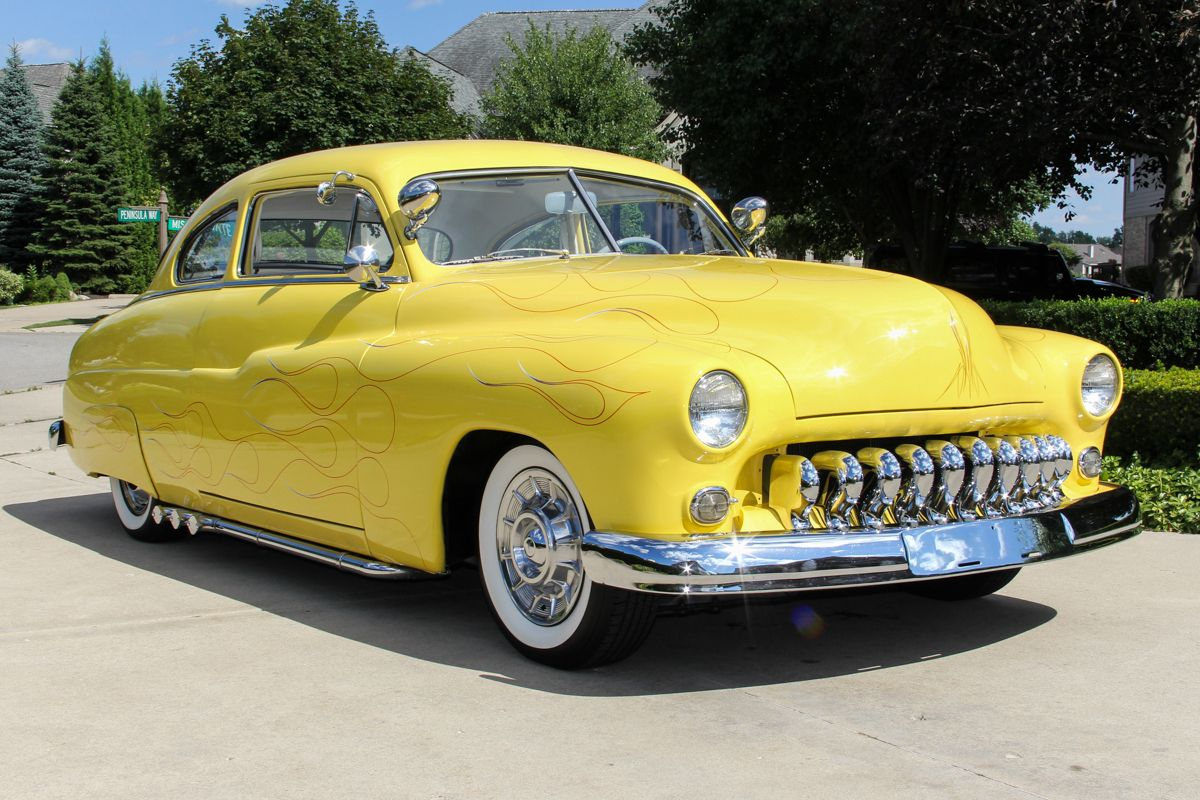1949 Mercury Monarch Lead Sled | Hot Rods | Pinterest | Cars