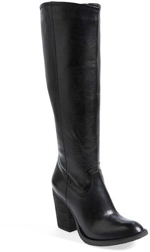 61321e37ce0 Steve Madden  Carrter  Knee High Leather Boot (Women) on shopstyle ...