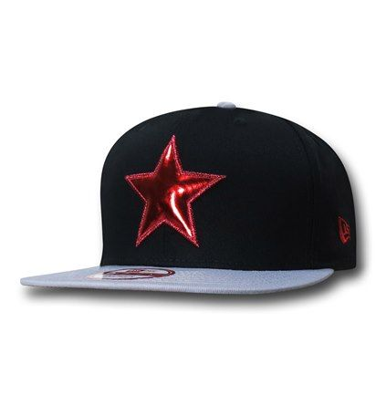 7db765605 Winter Soldier Red Star 9Fifty Cap | Captain America Merchandise ...