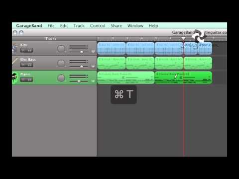 Garage Band 2 Using Loops To Make Backing Tracks Home Recording Techniques Rt 202 Youtube Garage Band Backing Tracks Home Recording Studio