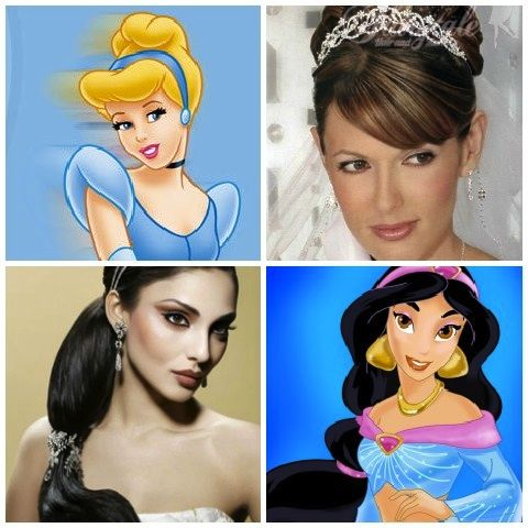 Hair Styles Inspired By Your Favorite Disney Princesses Weddinghair Hairaccessories