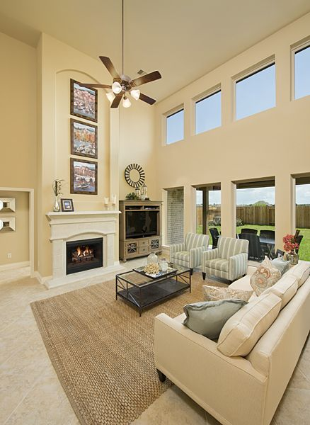 Pin By Perry Homes On Living Spaces Perry Homes House Paint Interior Model Homes