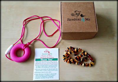 Bambini & Me Baltic Amber #baby Necklace + Teether #review #BnMeBalticAmberTeethingNecklace http://tinyurl.com/jpl7dfh