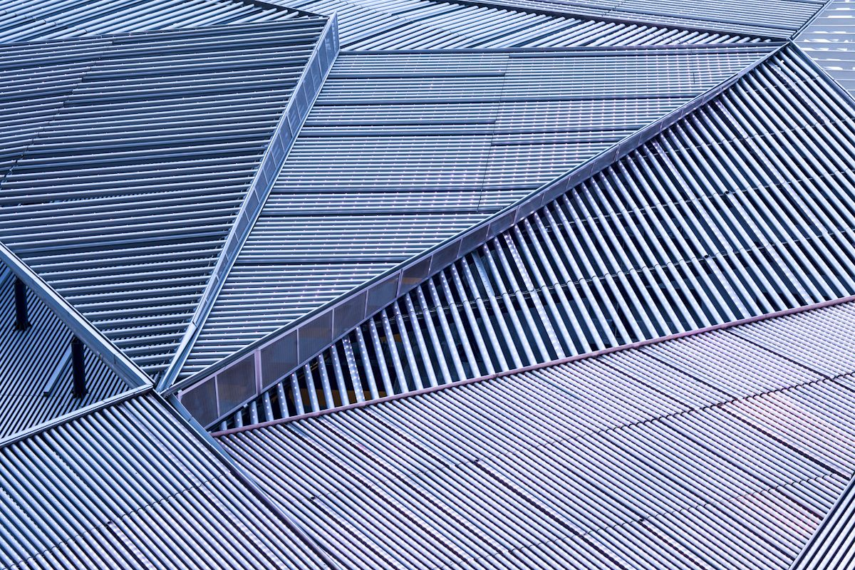 Metal Roof Detail Of Orchard Central Singapore Photo By Rory Daniel Dp Architects Metal Facade Roof Detail