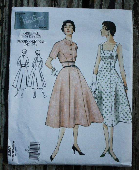 Vogue 2267 1950s 50s Sundress & Bolero by EleanorMeriwether