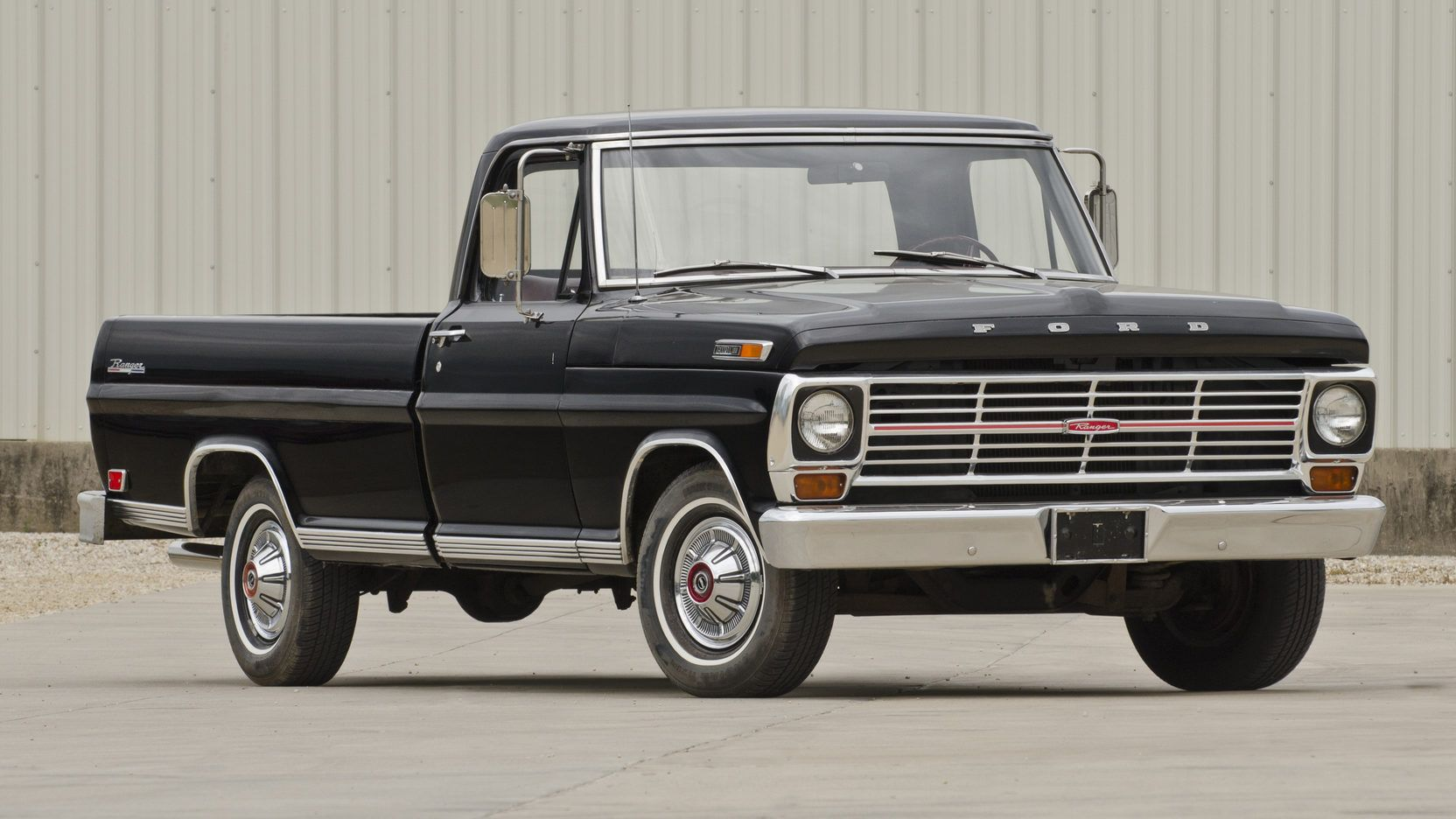 1969 Ford F100 Custom Stepside F 100 Ranger Pickup Presented As Lot At Des Moines 1664x936