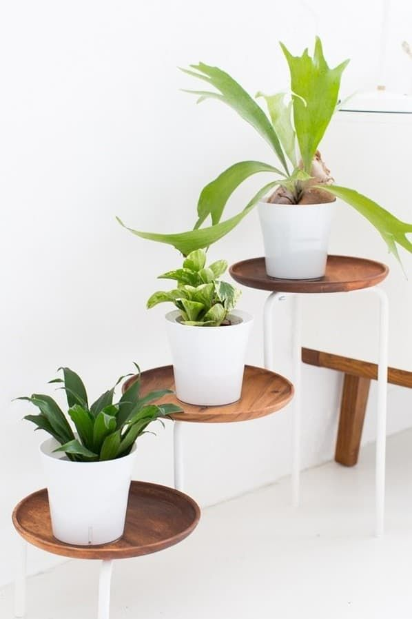 39 Ikea Hack Ideas that are Simple and Super Stylish - james and catrin -   14 plants Stand hack ideas