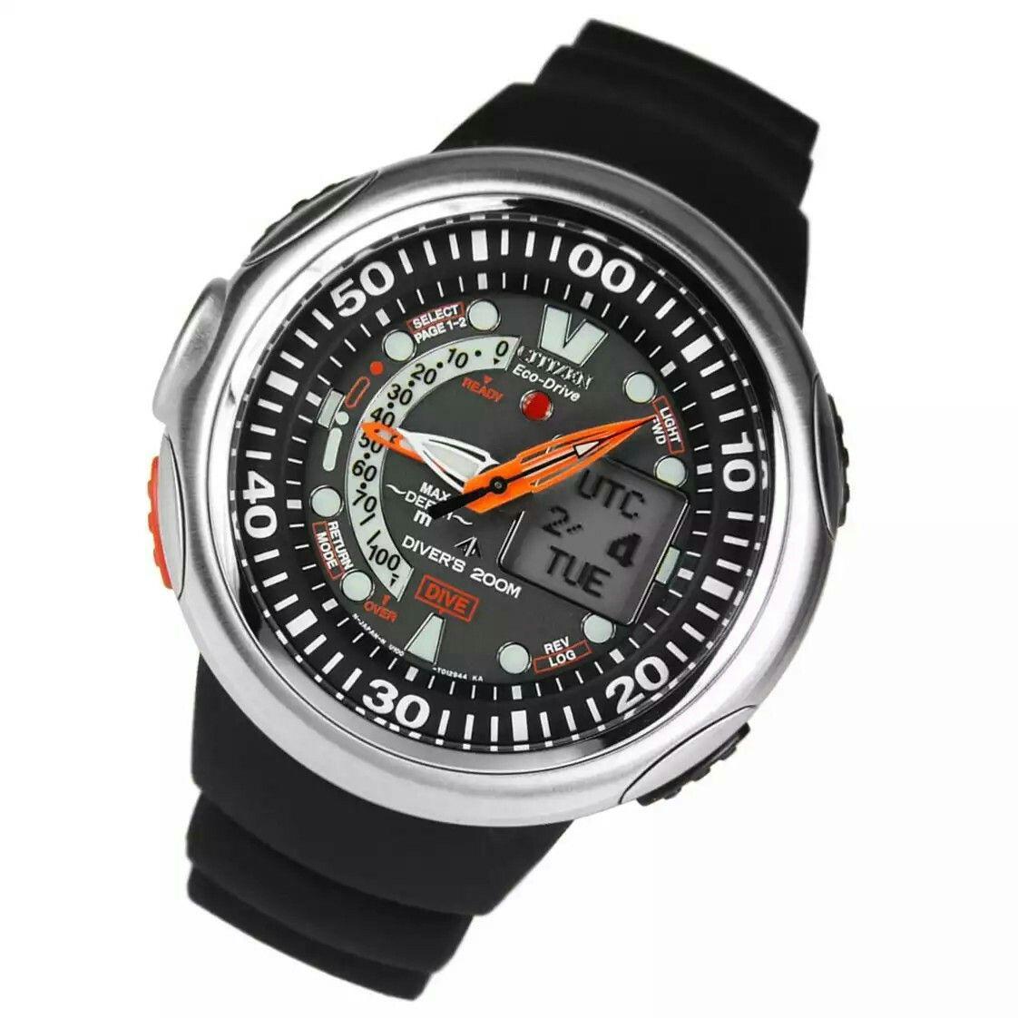 638ceeaf532 Citizen Promaster Aqualand Eco Drive Dive Watch JV0000 01E JV0000 ...