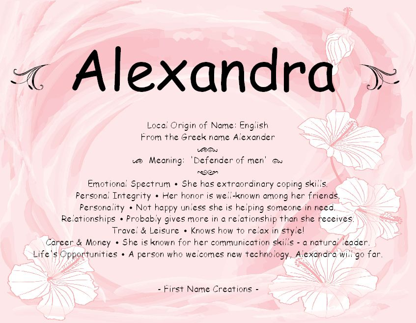 alexandra name meaning | names & meanings | pinterest - Letti Name Meaning
