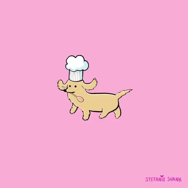 Photo of Sausage dog animation by @stefanieshank on IG