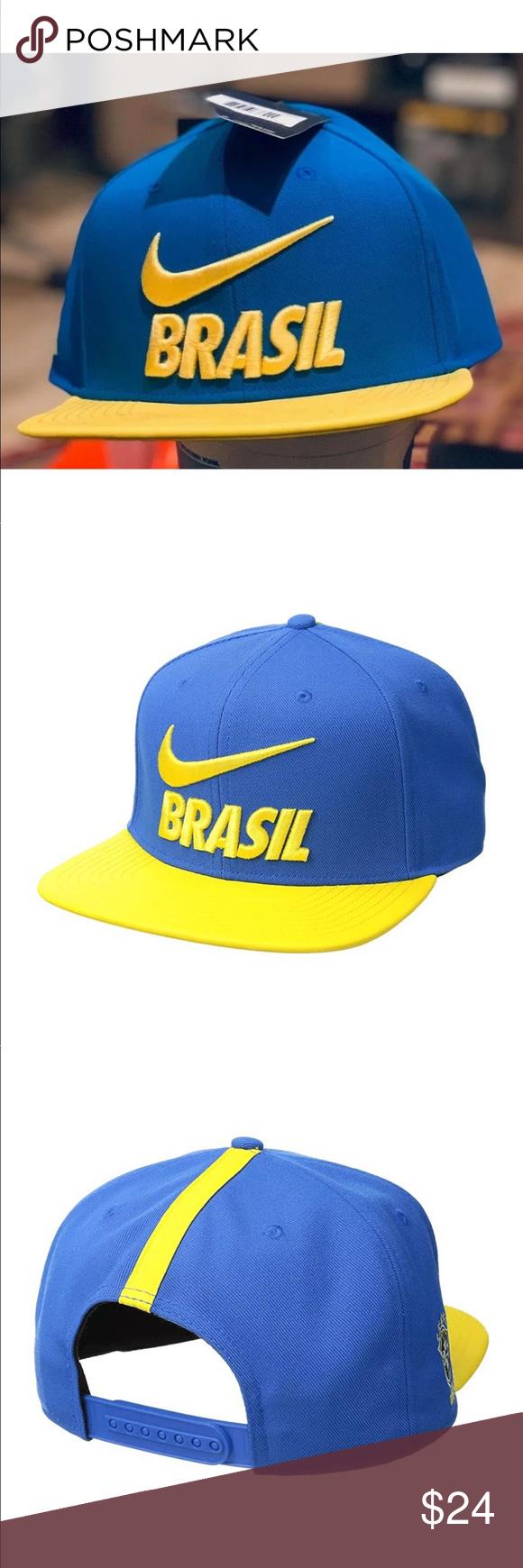2ff785ce8ff Nike Brasil Football 2018 Pro Adjustable Hat Nike Brasil 2018 Pro Hat NEW  WITH TAGS SIZE