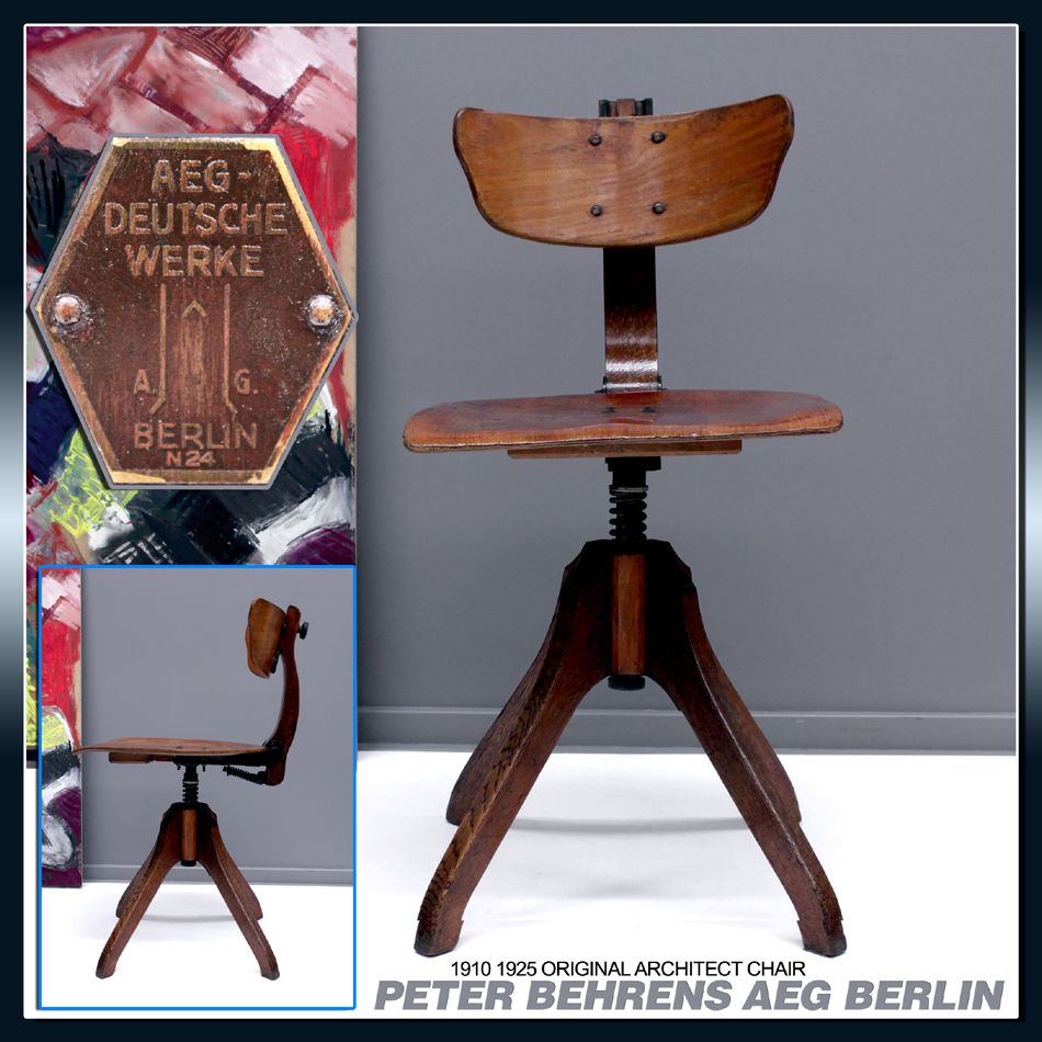 Peter Behrens Aeg Chair Peter Behrens Designer Myo Pinterest  # Muebles Peter Behrens