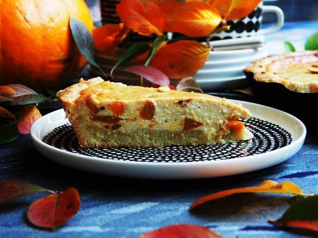 Peggyn pieni punainen keittiö: Kurpitsa-mascarponepiirakka #kurpitsa #kruoka