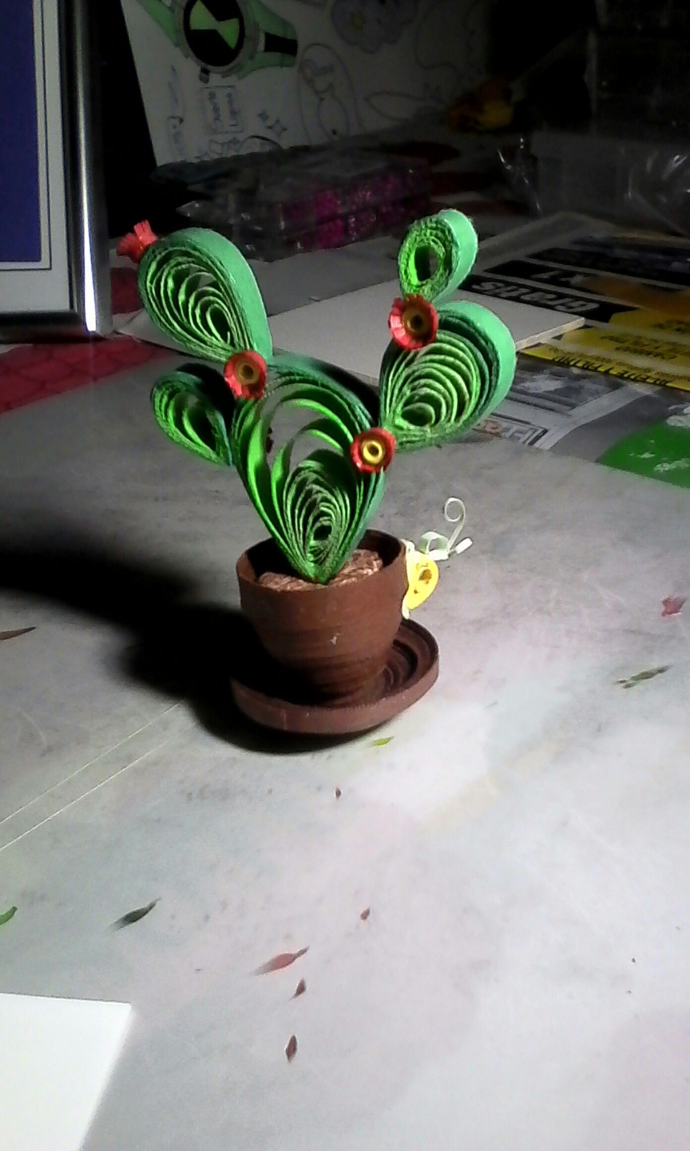 Cactus Quilling Paper Quilling Patterns Quilling