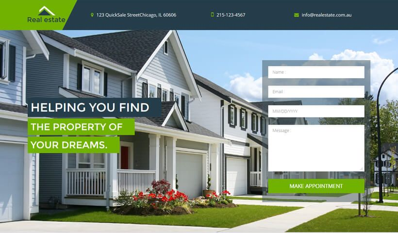 Real Estate Lead Capture Landing page templates by oLanding ...