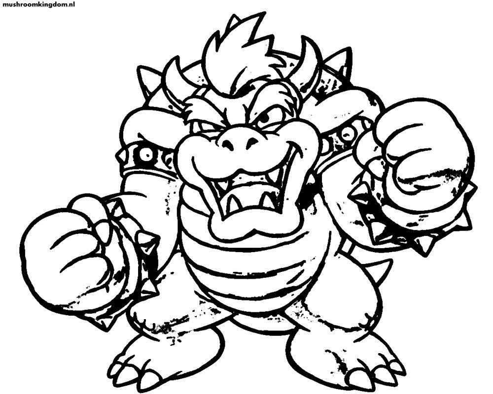 Dibujos Para Colorear Mario Bros Luigi | çñ,k im | Pinterest | Mario ...