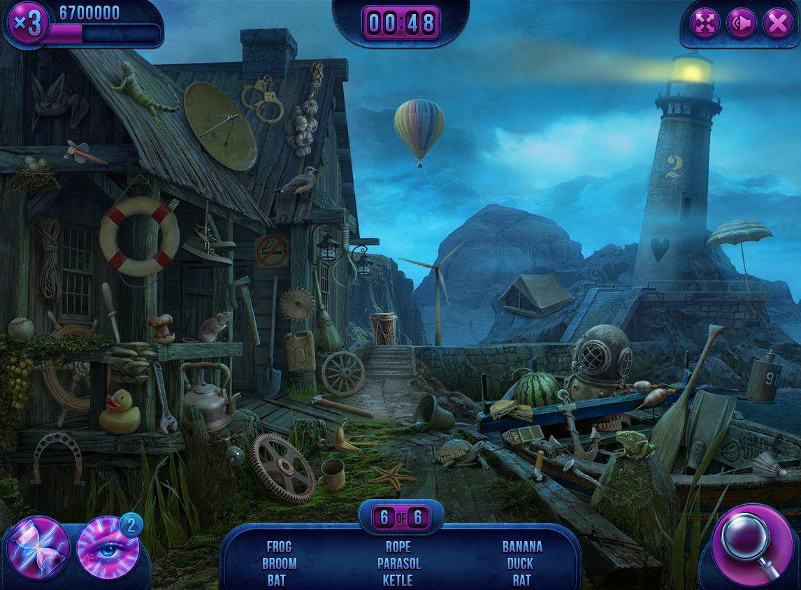 ArtStation - UI - Puzzle Adventure Hidden Object Games, Cheila ...
