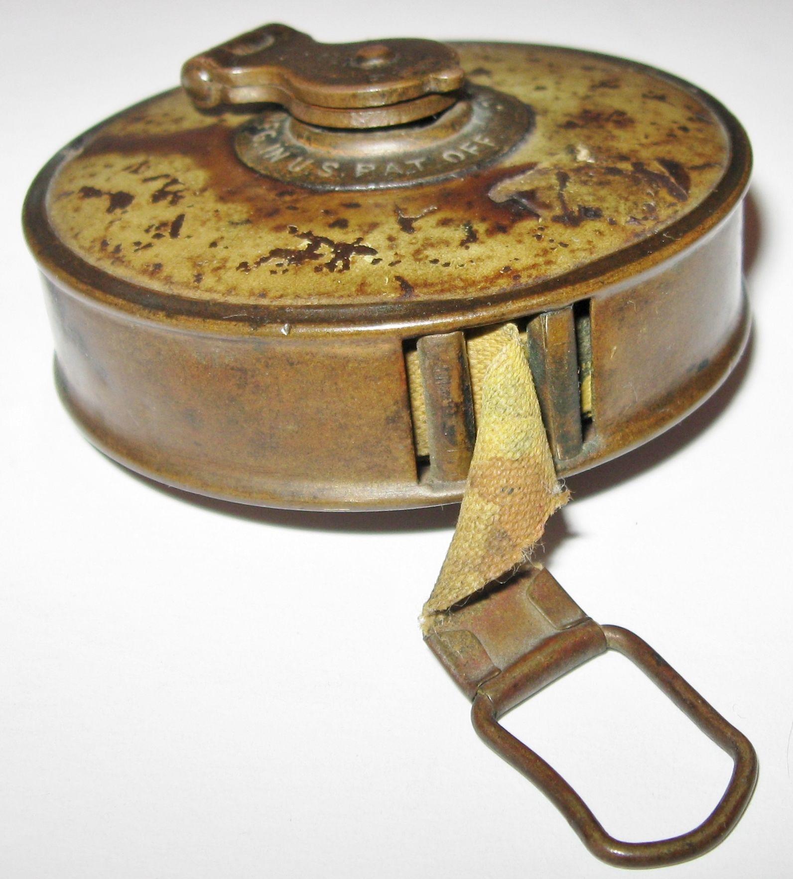 Vintage Antique Measuring Tape