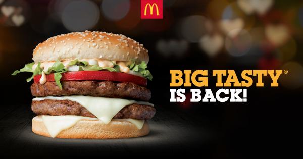 Mcdonalds Tastily Ever After Take Big Tasty Back Big Tasty Delicious Burgers Tasty