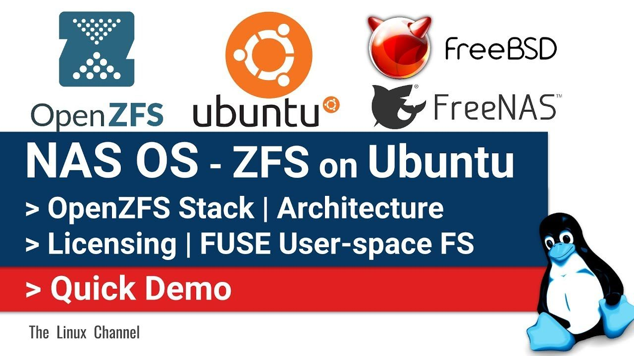 0x174 NAS OS   ZFS on Ubuntu Server   OpenZFS Stack   Architecture