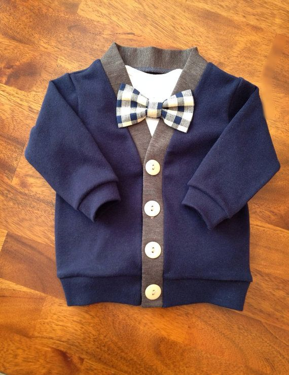 79baf6b8b4cd Baby Cardigans Clip on Bow Ties Burpcloths Hair Bows by ColbyAve ...