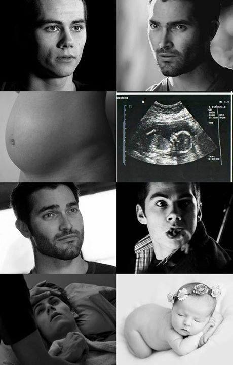 Pregnant Stiles! Sterek! | Sterek Kids | Sterek, Teen wolf, Tyler