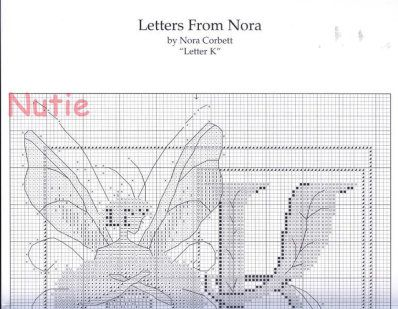 """Letters from Nora """"K"""""""