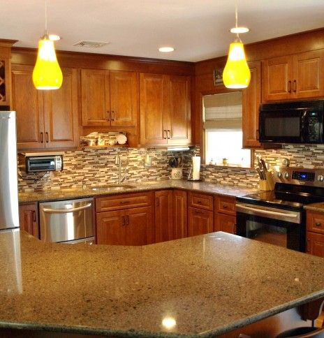 Gentil Angled Kitchen Islands | Hudson Valley Kitchen Design · 845 294 8242 · 2713