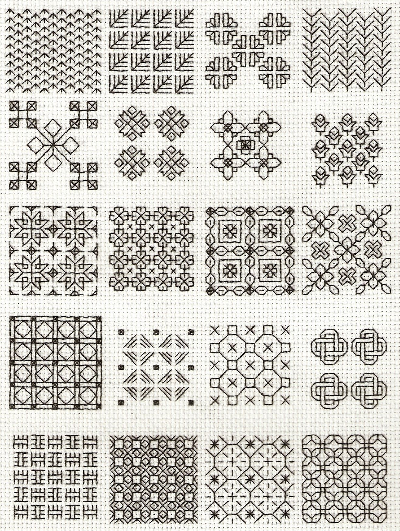 Blackwork Patterns Cool Design Ideas