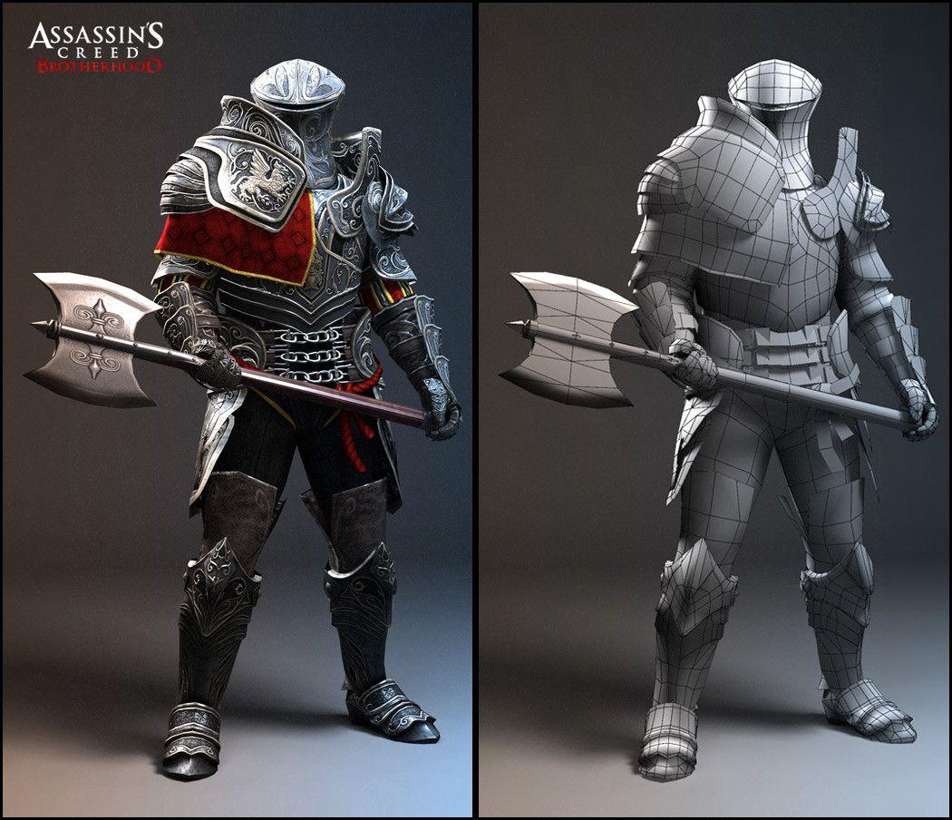 ArtStation - Assassin's creed Brotherhood, nicolas collings