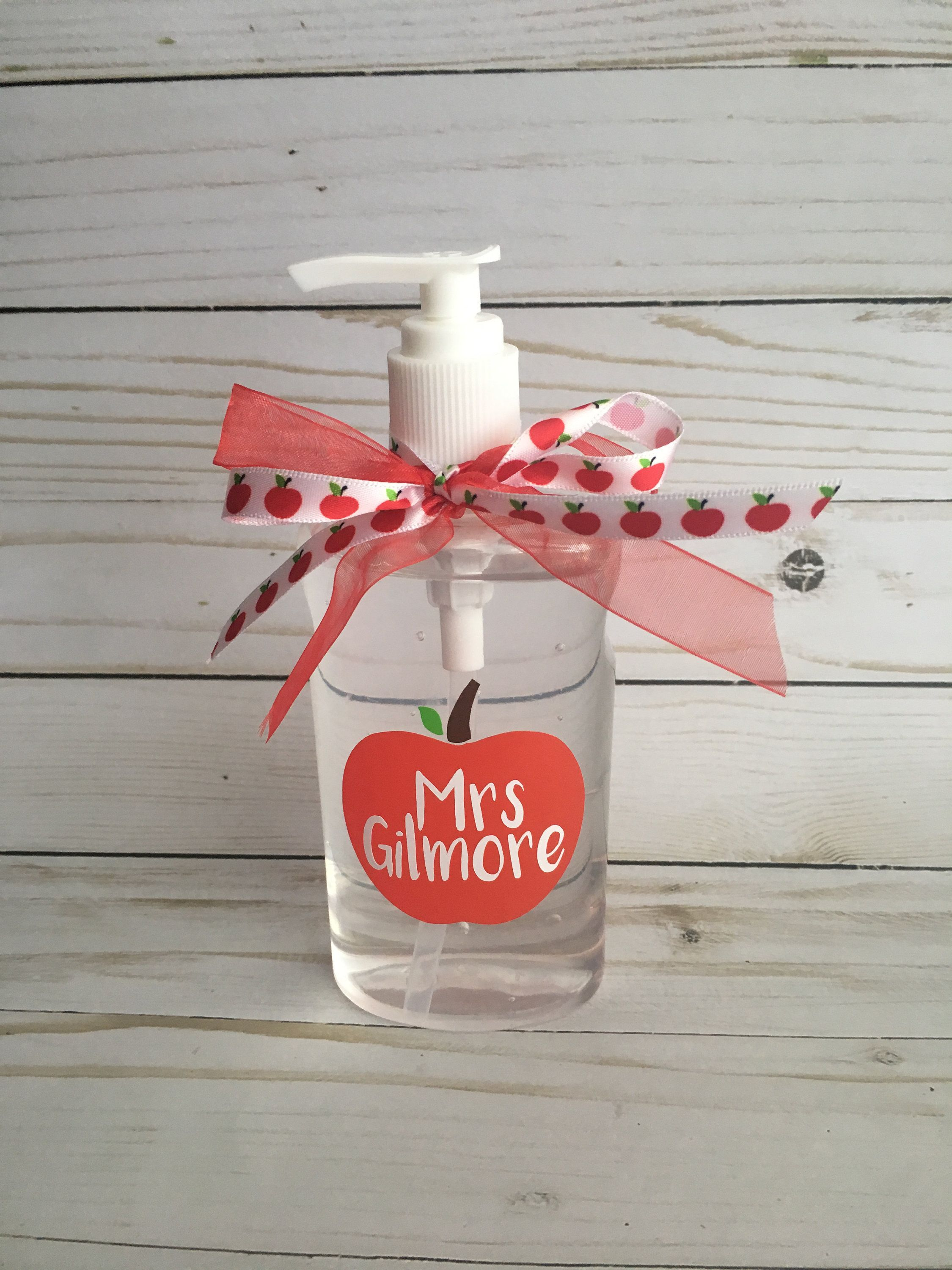 Personalized Hand Sanitizer Teacher Gift Personalized Teacher
