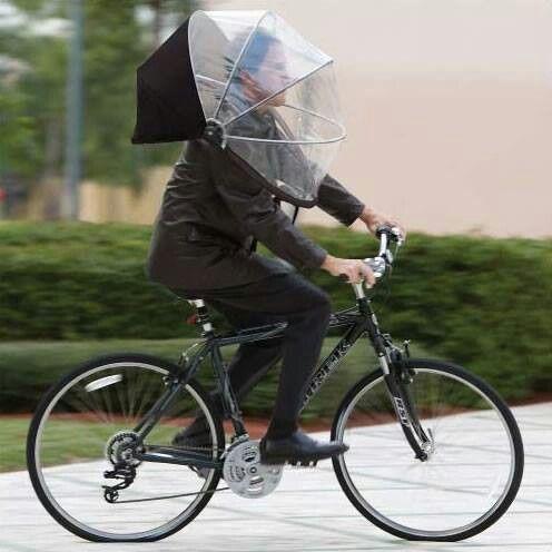 Zuverlassiger Regenschutz Und Sinnvolles Recycling Fahrrad