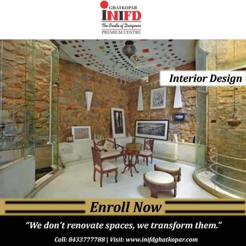 Inifd Ghatkopar Is One Of The Best And Leading Fashion Designing Interior Designing Institute In Mumbai We Offer Various Pro Interior Design Interior Design