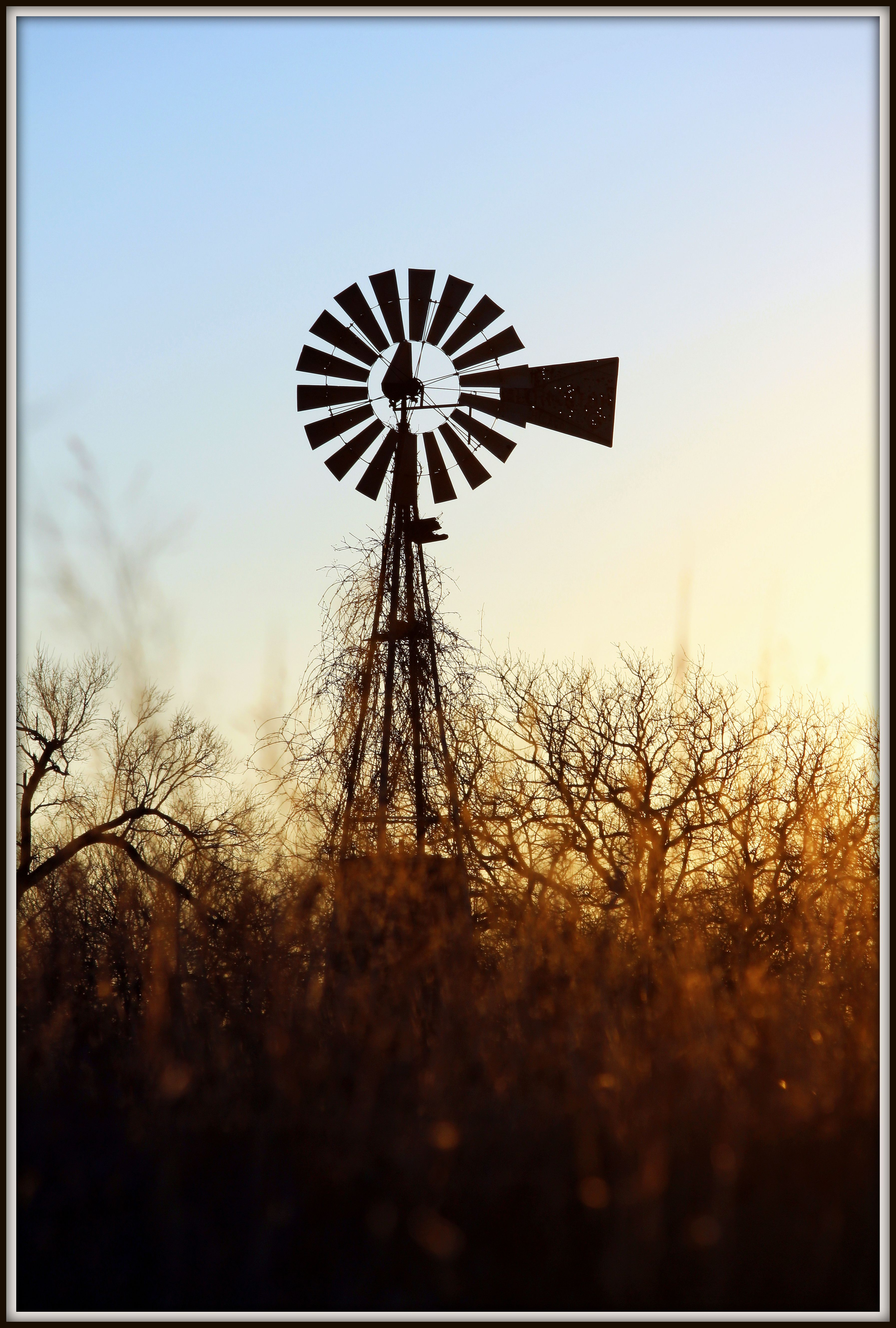 old windmills of Oklahoma | Beautiful landscapes